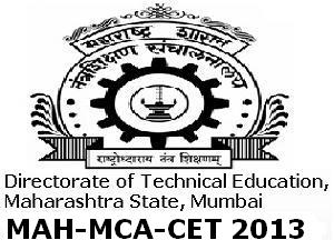 MCA CET 2013 Online application form
