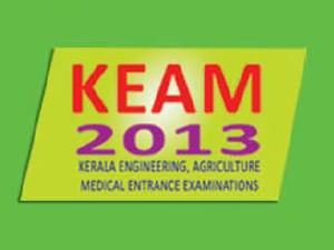 Kerala KEAM 2013 Online Application form status