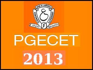 AP PGECET 2013 Exam Syllabus