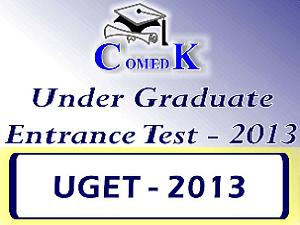 COMEDK UGET2013 online registration form