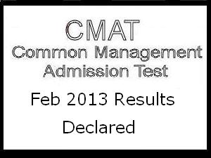 CMAT Feb 2013 results announced