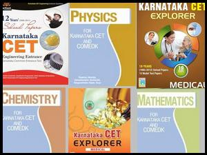 Karnataka CET 2013 Reference Books