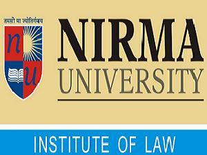 Law Programs admission at Nirma Univ