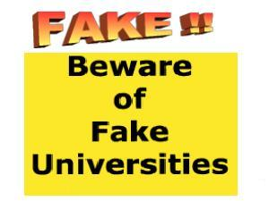 Sign Petition To Shut Fake Universities