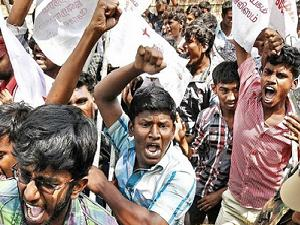 SriLankan students in India under threat