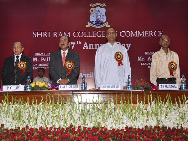 Shri Ram College of Commerce 87th Annual Day