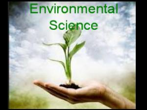 Environmental Science With New Options