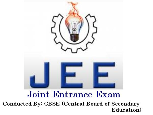 Joint Entrance Examination (JEE ) earlier known as IIT-JEE