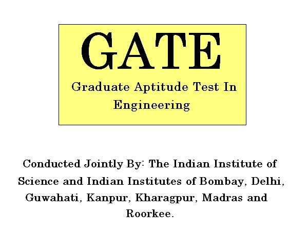 Graduate Aptitude test for Engineering (GATE)