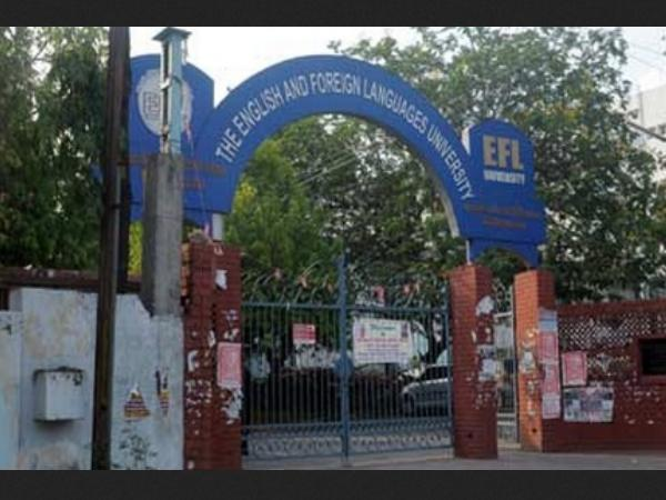 8. English and Foreign Languages University, Hyderabad