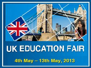 IDP's UK Education Fair 2013