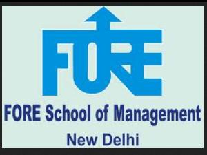 Admissions open for Part Time MBA Course by FORE School of Management