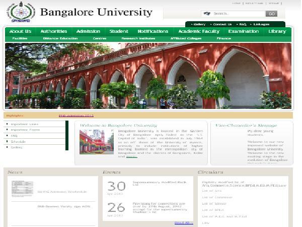 BU official website lacks Proper Info