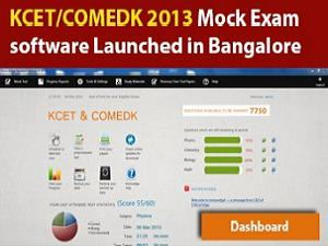 KCET/COMEDK 2013 Mock Test Software