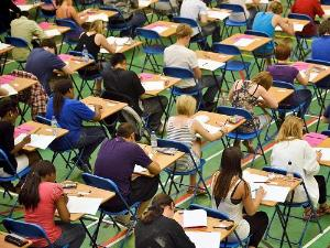 British Exam Papers Valuated In India