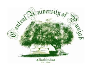 Admissions @Central University of Punjab