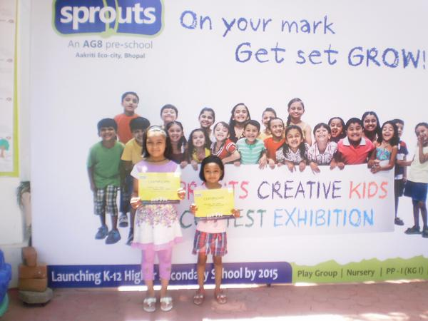 Sprouts Creative Kids Contest by kids of different societies.