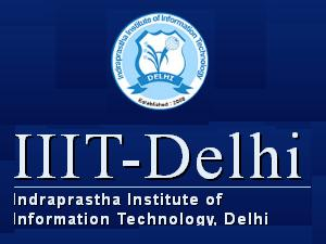 M.Tech Programs admissions at IIIT Delhi