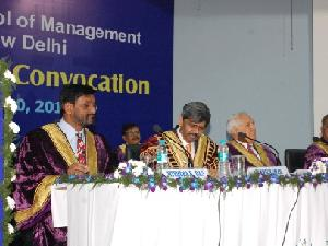 Nokia boss Shivakumar at Convocation Ceremony of FORE School