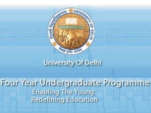 Delhi University Admission Guidelines & Schedule for 4yr UG Programmes