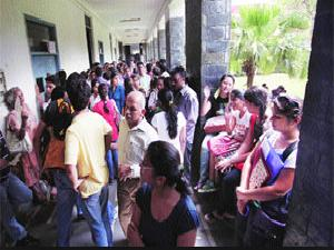 Rush For PU Admissions Across State