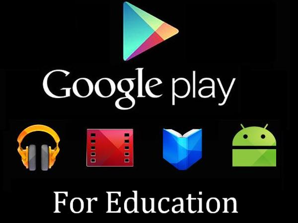 'Google Play' for Education - Helps Teachers Discover Apps