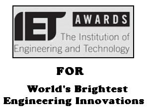 'IET Innovation Awards' for Engineers