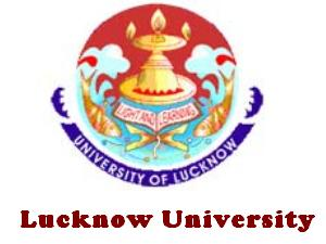 Lucknow University UG Admissions 2013
