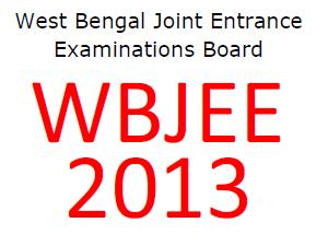 WBJEE 2013 results on 10th June
