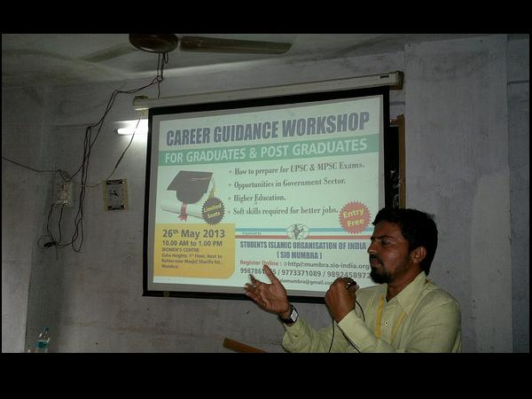Career guidance workshop by SIO