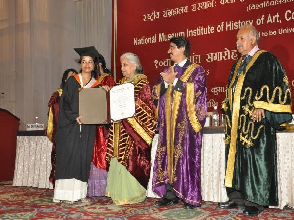 Students were awarded with degrees