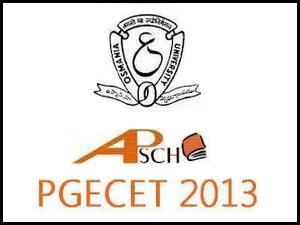 OU PGECET 2013 results declared