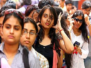 Students rushed at DU for admissions