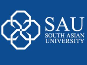 South Asian University student tops exam