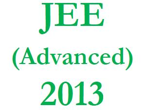 JEE Advanced 2013 Admission Process