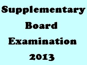 TN SSLC Supply Exam 2013 DateSheet