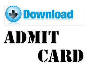 UPSC Medical Services Exam Admit Card