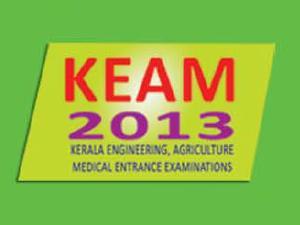 Kerala KEAM 2013 Architecture Rank list