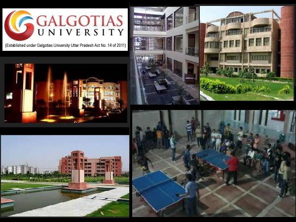What's special about Galgotias Varsity?