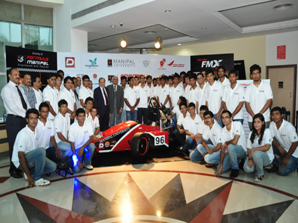Manipal Students developed a Race Car