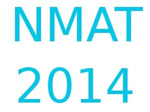 NMAT 2014 registration from 4th July
