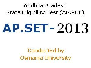 AP.SET 2013 Online Application available