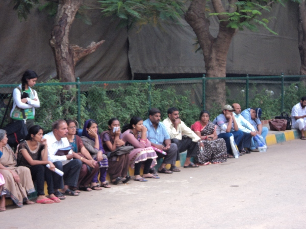 Students and Parents at NMKRV College