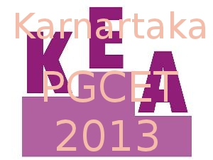 KEA announced PGCET 2013 Time Table