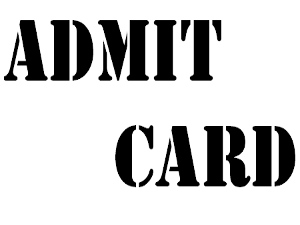 Download LL.B Entrance exam Admit Card