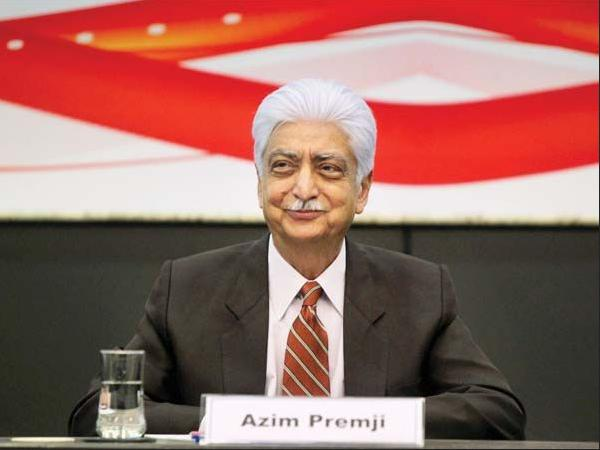 Azim Premji's Net Worth: U.S. $12.2 billion