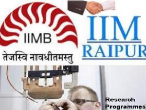 IIM Raipur and IIM Bangalore Tie-up