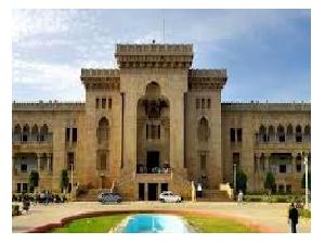 Osmania University distance courses 2013