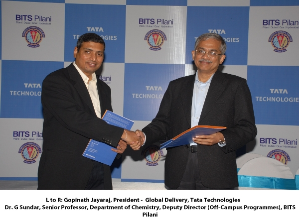 Tata Technologies signs MoU with BITS