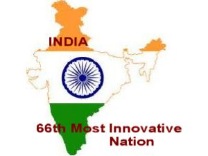 India Ranked 66th Most Innovative Nation